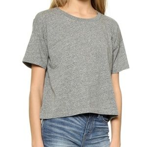Madewell Boxy Crop T-shirt